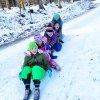 Kinder haben Spaß auf dem Bodanrück