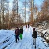 Familie Wandern auf dem Bodanrück
