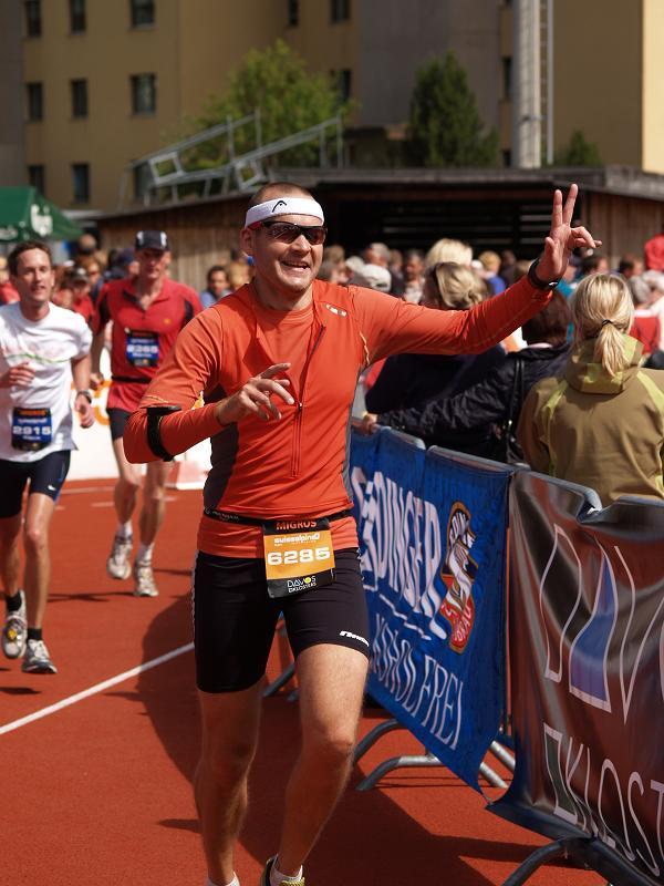Swissalpine 2009 - Zieleinlauf Holger Winkler