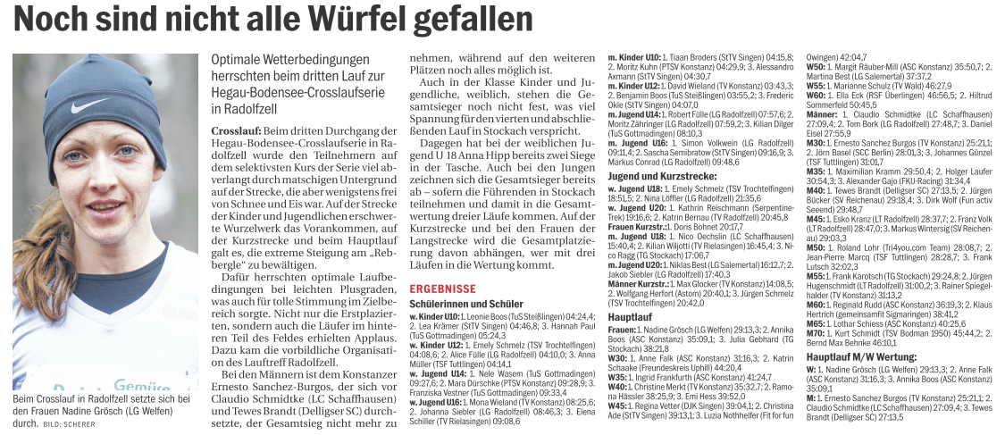 Crosslauf Radolfzell 2014 Südkurier