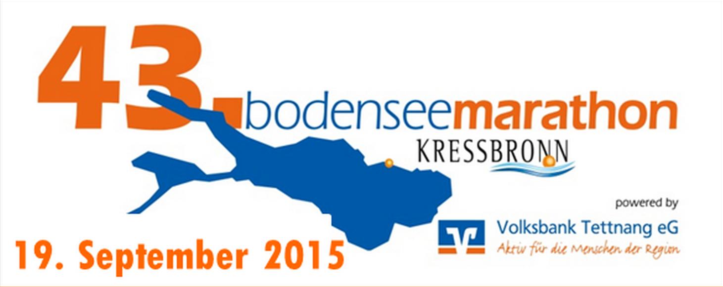 Logo 43. Bodensee-Marathon